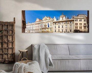 Jugendstilgebäude am Altstädter Ring in Prag von Werner Dieterich