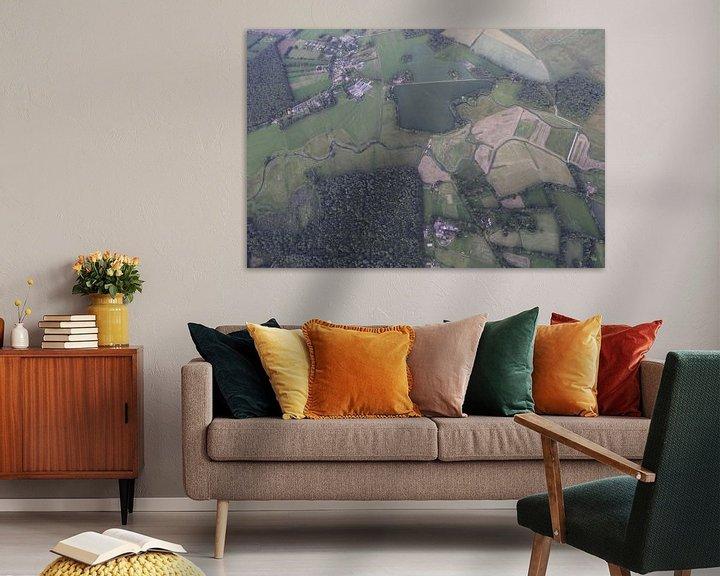 Sfeerimpressie: Beekje in het Drentse landschap van Sander de Jong