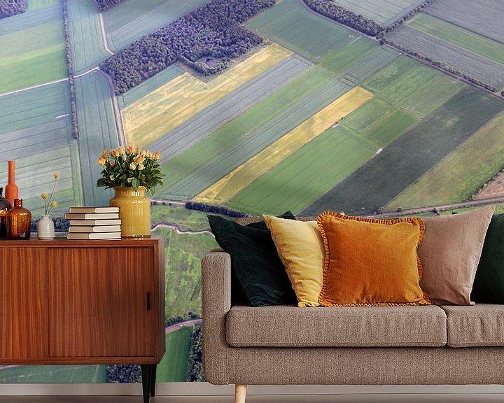 Sfeerimpressie behang: Drenthe van Boven van Sander de Jong