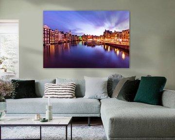 Amsterdam komt laat in de middag tot leven na de storm van Madan Raj Rajagopal