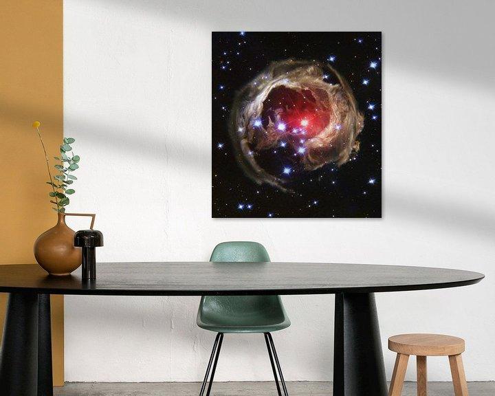 Sfeerimpressie: Space Nebula photo made with Hubble van Brian Morgan