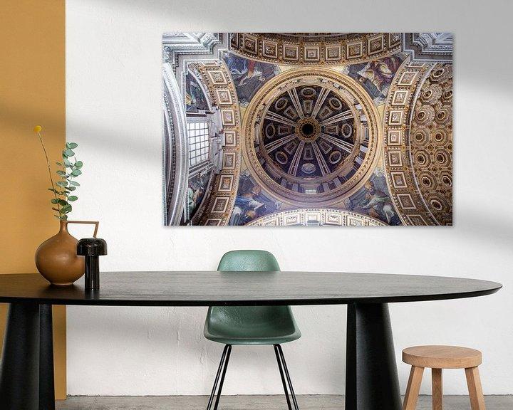 Beispiel: Das Dach von St. Peter's im Staat der Vatikanstadt von Sander de Jong