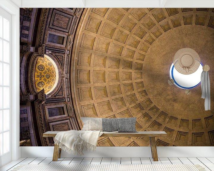 Beispiel fototapete: Pantheon, Rom von Sander de Jong