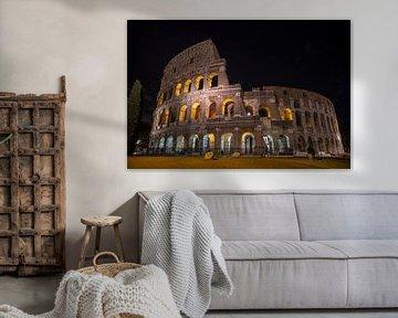 Das Kolosseum bei Nacht