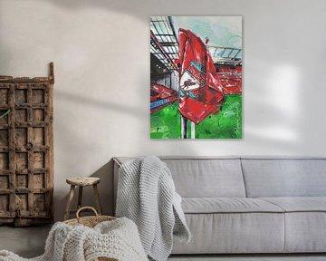 Liverpool FC Malerei von Jos Hoppenbrouwers