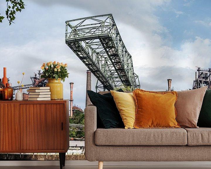 Beispiel fototapete: Landschaftspark Duisburg von Lieke Roodbol