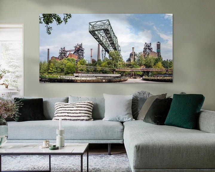 Beispiel: Landschaftspark Duisburg von Lieke Roodbol