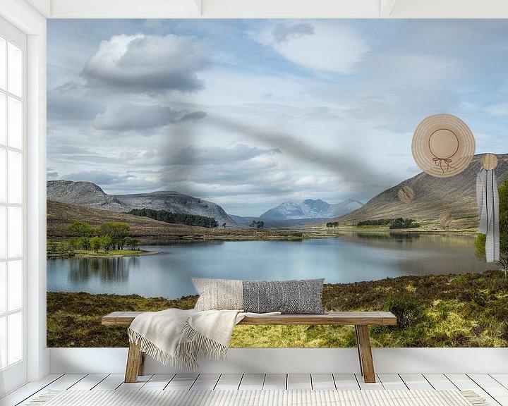 Beispiel fototapete: Blick über den See Droma von Pascal Raymond Dorland