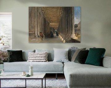 Die Kolonnade des Queen Mary's House, Greenwich, James Holland