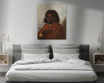 Eine Königin der Aborigines, Louis Tannert.
