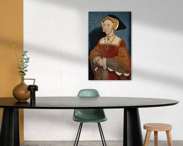 Jane Seymour, Königin von England, Hans Holbein