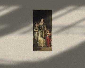 Die Königin von Spanien und die Prinzen, Mariano Fortuny