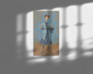 Das blaue Mädchen, James Abbott McNeill Whistler