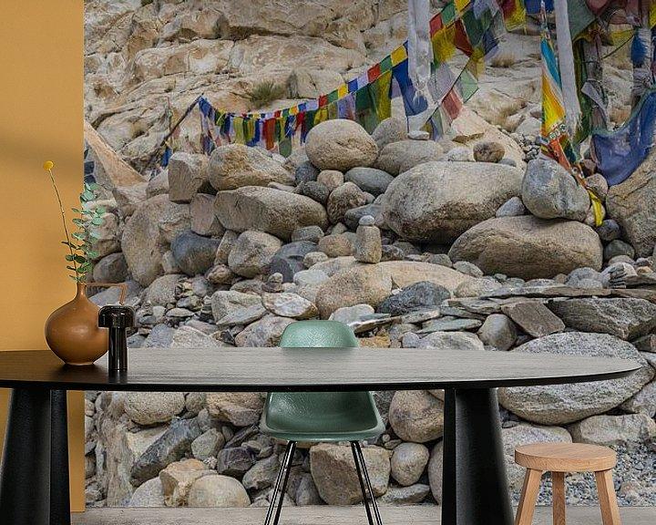 Sfeerimpressie behang: mani stenen van Walter G. Allgöwer