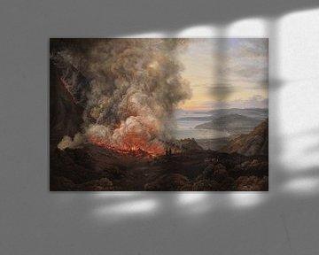 Ausbruch des Vulkans Vesuv, Johan Christian Dahl