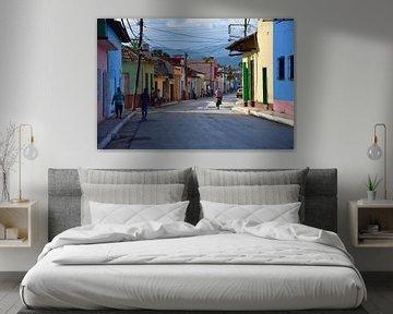Buntes Kuba von Savannah van der Meer