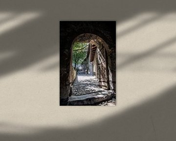 Durchgang in der Basilika von Valeria