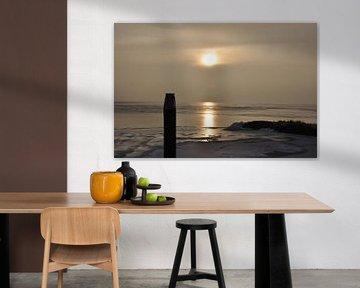 Zonsondergang MirnserKlif van Fred van den Brink