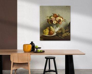 Blumen und Früchte, Henri Fantin-Latour