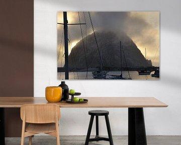 Morro Rock van Fred van den Brink