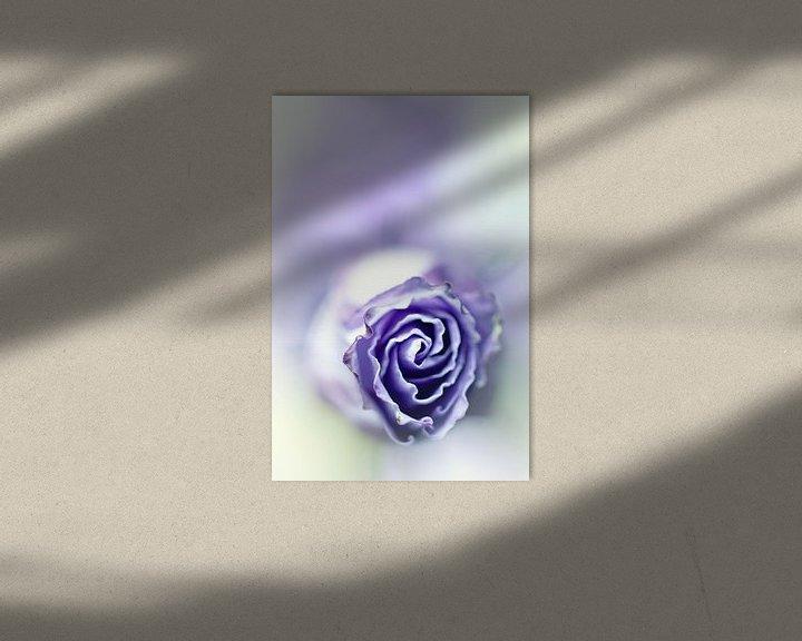 Sfeerimpressie: Purple breeze....(soft 2) (bloem) van Bob Daalder