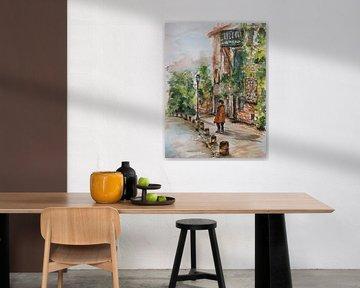 Herbst in Montmartre. von Ineke de Rijk
