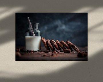 Melk & Cookies van Iwan Bronkhorst