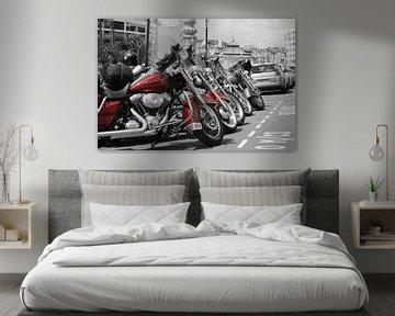 Harley Davidson Red Heritage Evo