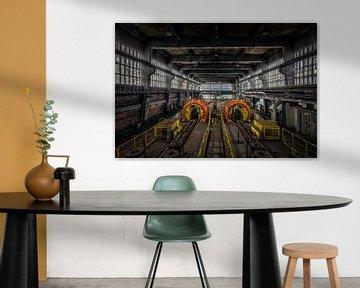Verlaten Kolen Mijn Fabriek in Duitsland ( Industrie ) van Beyond Time Photography
