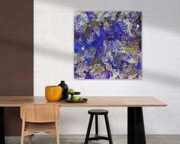 abstract schilderij - zeeleven van Christine Nöhmeier