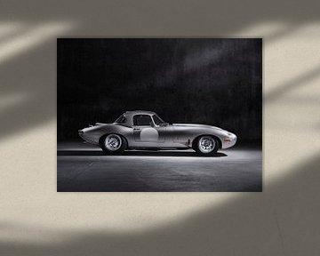 Jaguar E-Type sportscar