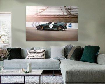 Jaguar F-Type Project 7 sportscar