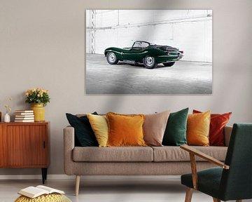 Jaguar XKSS sportscar