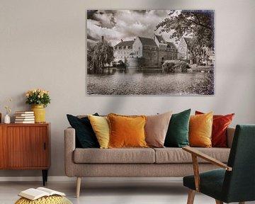 Schloss Woerden von Jan van der Knaap