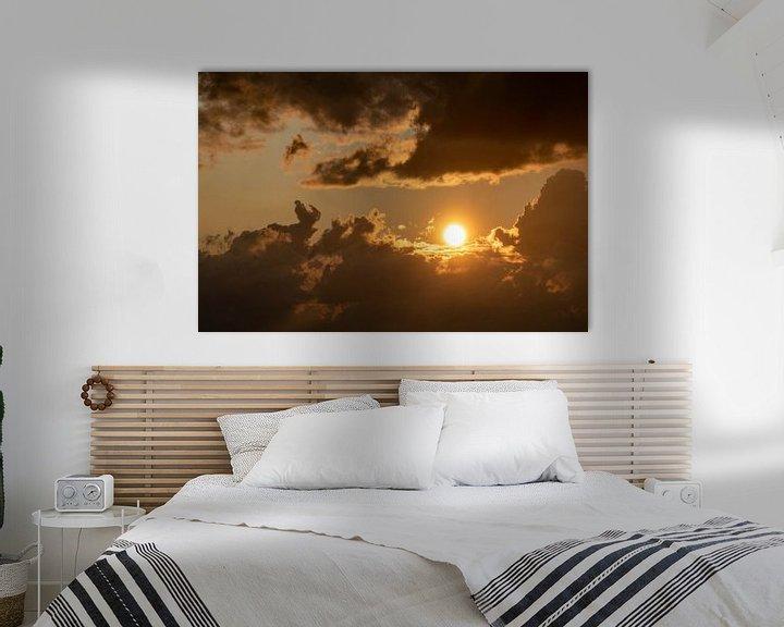 Beispiel: Goldener Sonnenuntergang. von Anjo ten Kate