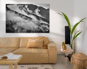 Alpennebel 1 von Bart Rondeel