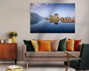 Eilean Donan Castle 2 van Henk Leijen