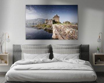 Eilean Donan Burg 5 von Henk Leijen