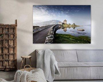 Eilean Donan Schloss 7 von Henk Leijen
