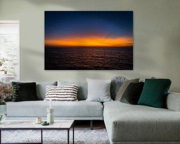 Colorful Sunset 2 van Danny Visser