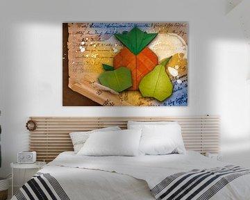 Origami trifft Küche - Ananas von Erich Krätschmer