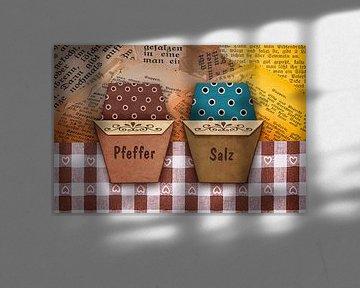 Origami trifft Küche - Pfeffer und Salz