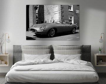 Jaguar E-Type sportscar von Atelier Liesjes