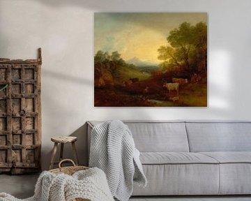 Landschaft mit Vieh, Thomas Gainsborough