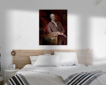 Porträt von James Christie, Thomas Gainsborough