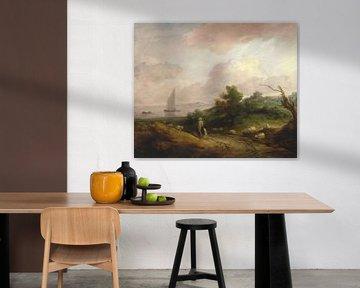 Küstenlandschaft mit einem Hirten und seiner Herde, Thomas Gainsborough