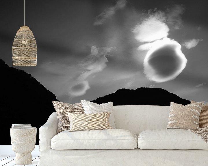 Sfeerimpressie behang: Every cloud has a silver lining van Rob van Dam