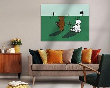 Verliefde beren van Cato Duys