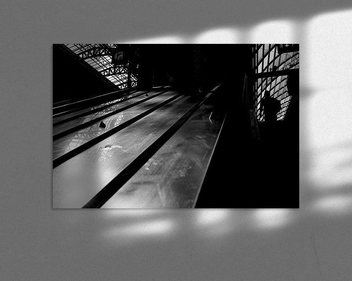 Sfeerimpressie: roltrap 1 van Bart Rondeel