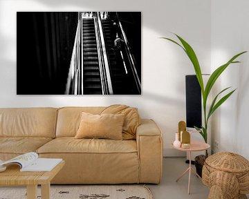 Rolltreppe 3 von Bart Rondeel